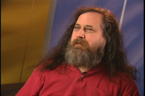 As it turns out, a man who set out to write his own version of Unix looks exactly like what you would expect him to
